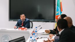 Members of the Ethiopian Reconciliation Commission